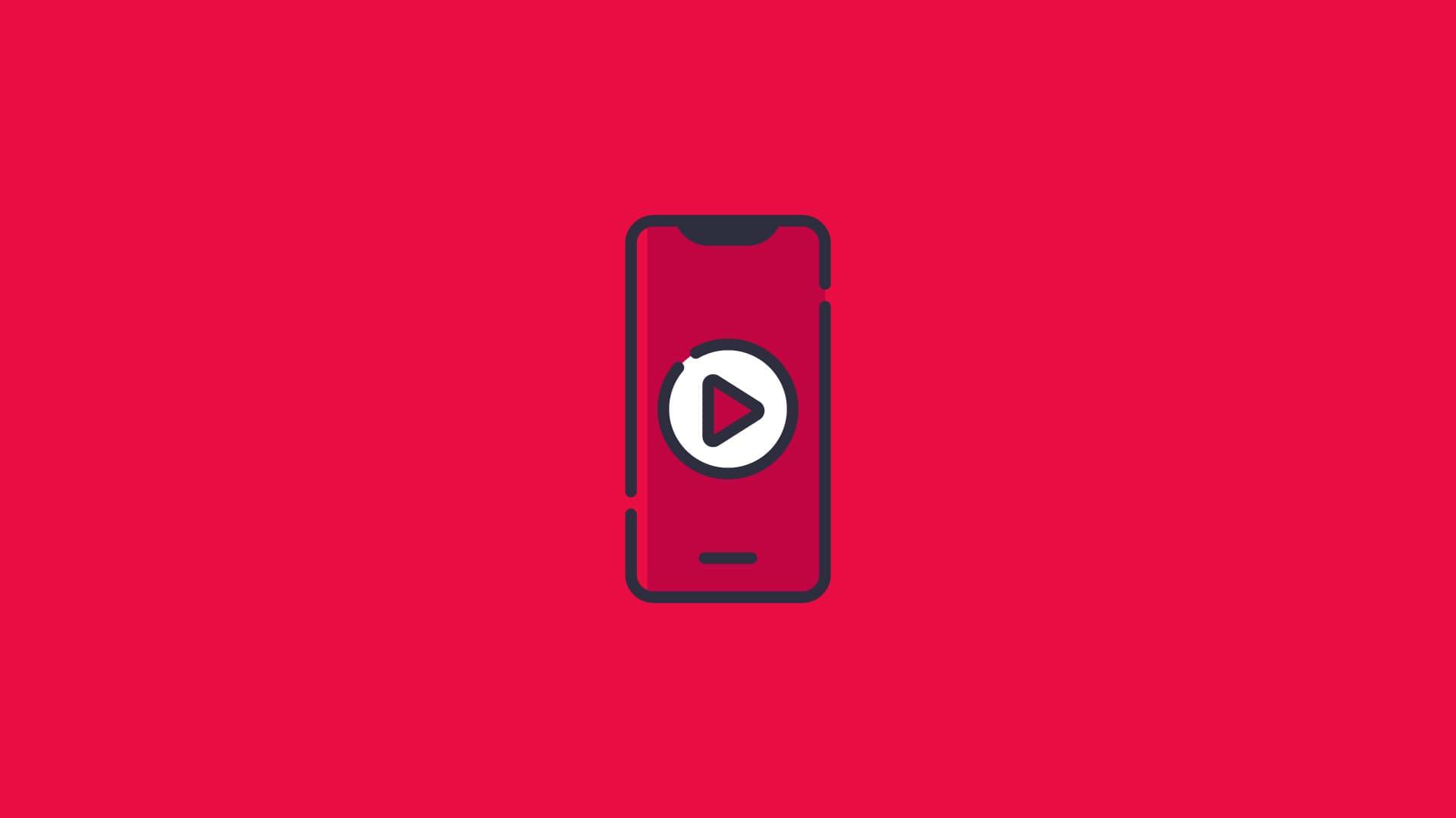 Vídeo redes sociales